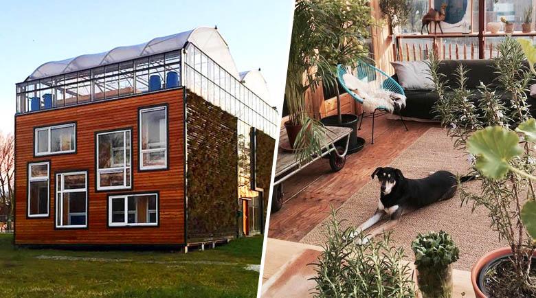free cette famille vit dans une maisonserre au cur de rotterdam with serre maison du monde. Black Bedroom Furniture Sets. Home Design Ideas