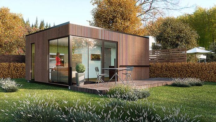 Des maisons made in france partir de containers recycl s for Maison container france prix