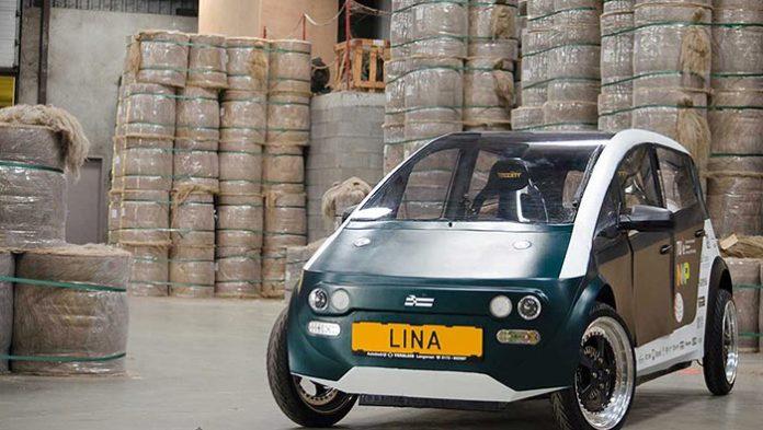 LINA, la voiture électrique et biodégradable qui veut révolutionner la mobilité ! By Mrmondialisation Biodegradable-Car-696x393