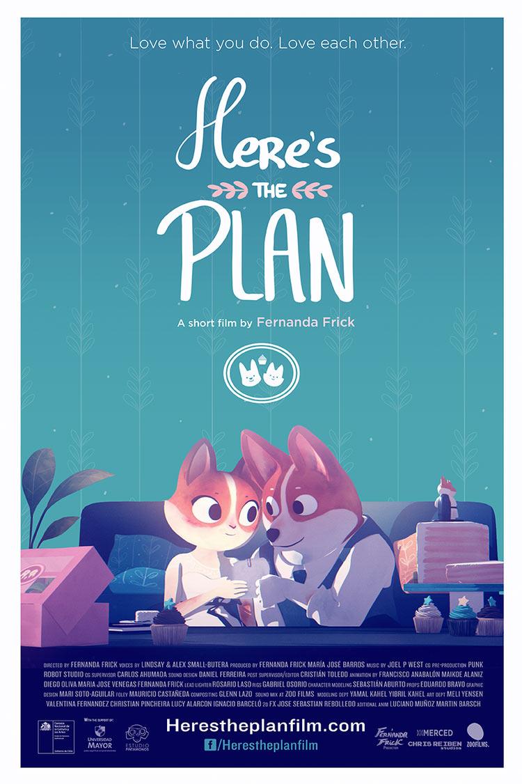 « Voilà le plan » : un court-métrage touchant sur nos rêves oubliés ! By Mrmondialisation           Poster_herestheplan