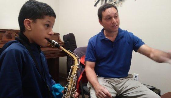 Saturday Sax Lesson