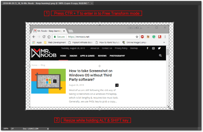 mac screenshot windows 8