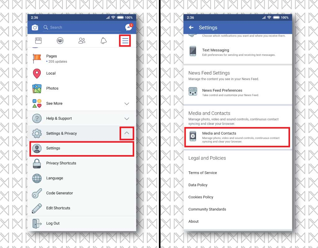 How to turn off facebook auto update android