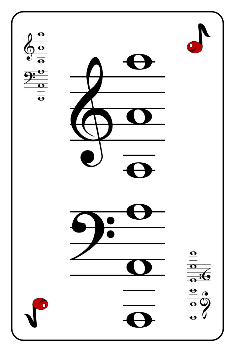 Mr. Noteman » Name-A-Note Music Playing Card Game