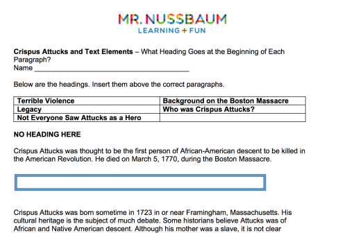 small resolution of Mr. Nussbaum History Civil War - Activities Activities