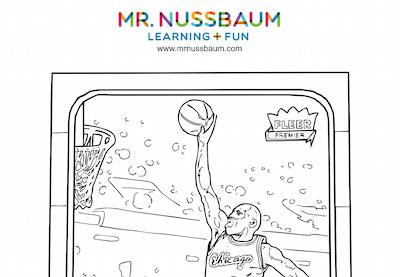 Mr. Nussbaum History Basketball Activities