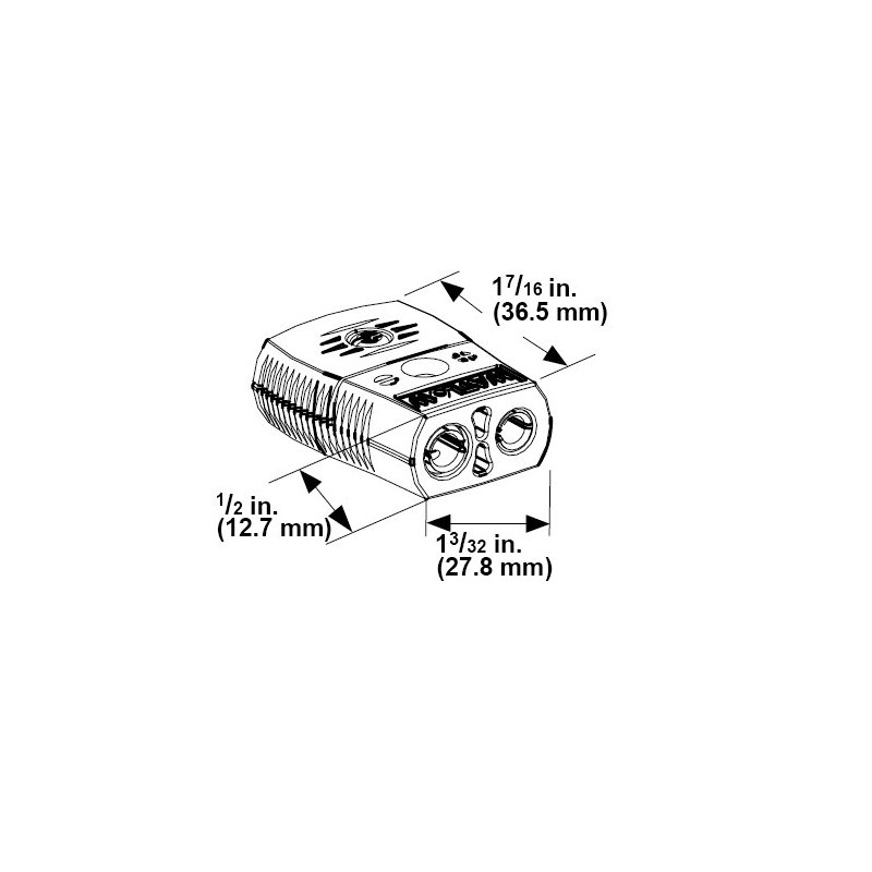 J-Thermocouple Female Jack Connector