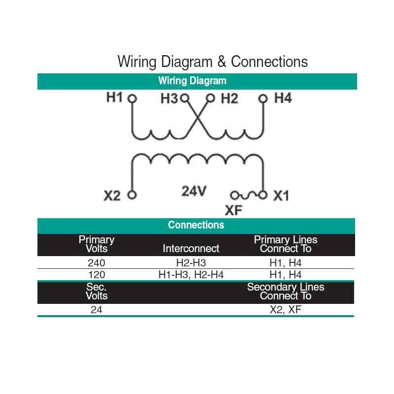 24v Transformer Wiring Diagram Open Coil Machine Tool Control Transformer