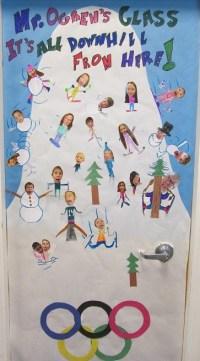 Our Olympic Door wins GOLD! | Mr. Ogren & Mrs. Lok's Class