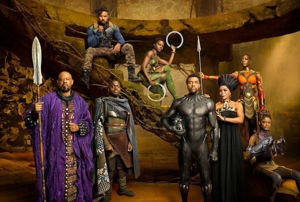 Image result for black panther movie moments