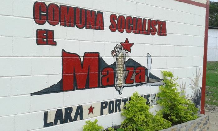El Maizal Socialist Commune, mural. (Ricardo Vaz)