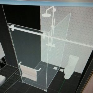 Original Bathroom Drawing 3D