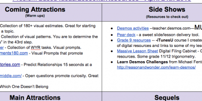 Great Math Resources
