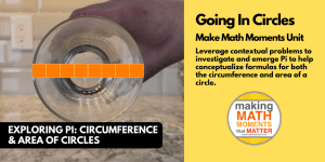Going In Circles! | Exploring Pi: Formula for Circumference of a Circle