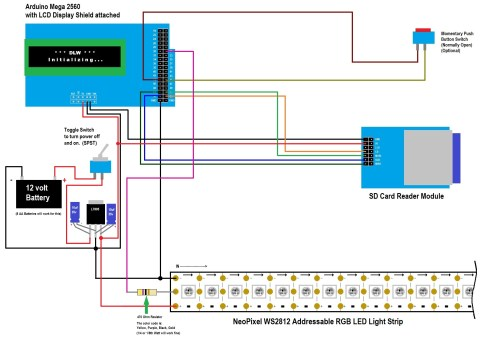 small resolution of 1 click here to download the wiring diagram for the neopixel ws2812 digital light wand