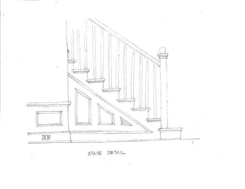 stair diagram traditional