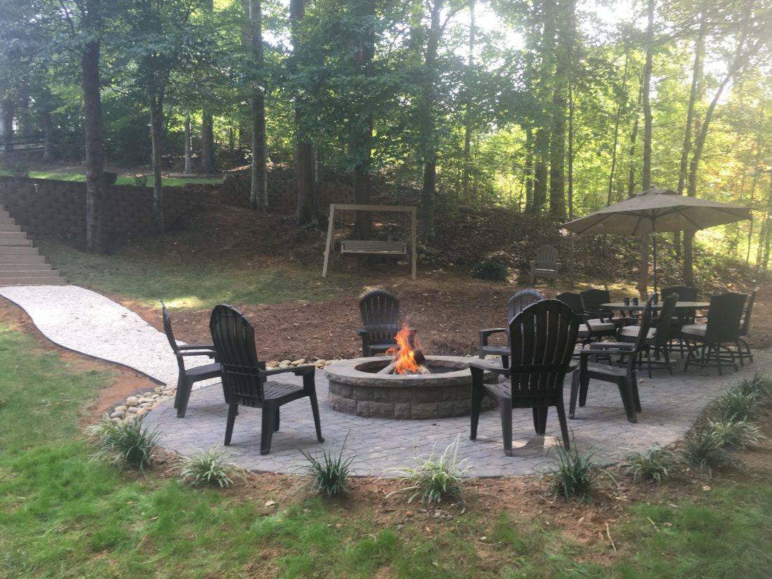 fire pit fort mill sc installations