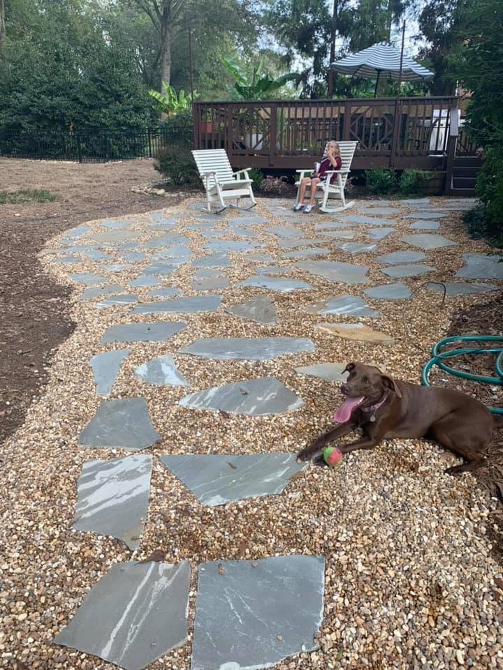 Pea Gravel Patio Outdoor Living Tip Of The Day Mr Outdoor Living