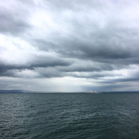 #storm is coming @ #romanshorn #mrozilla #bodensee