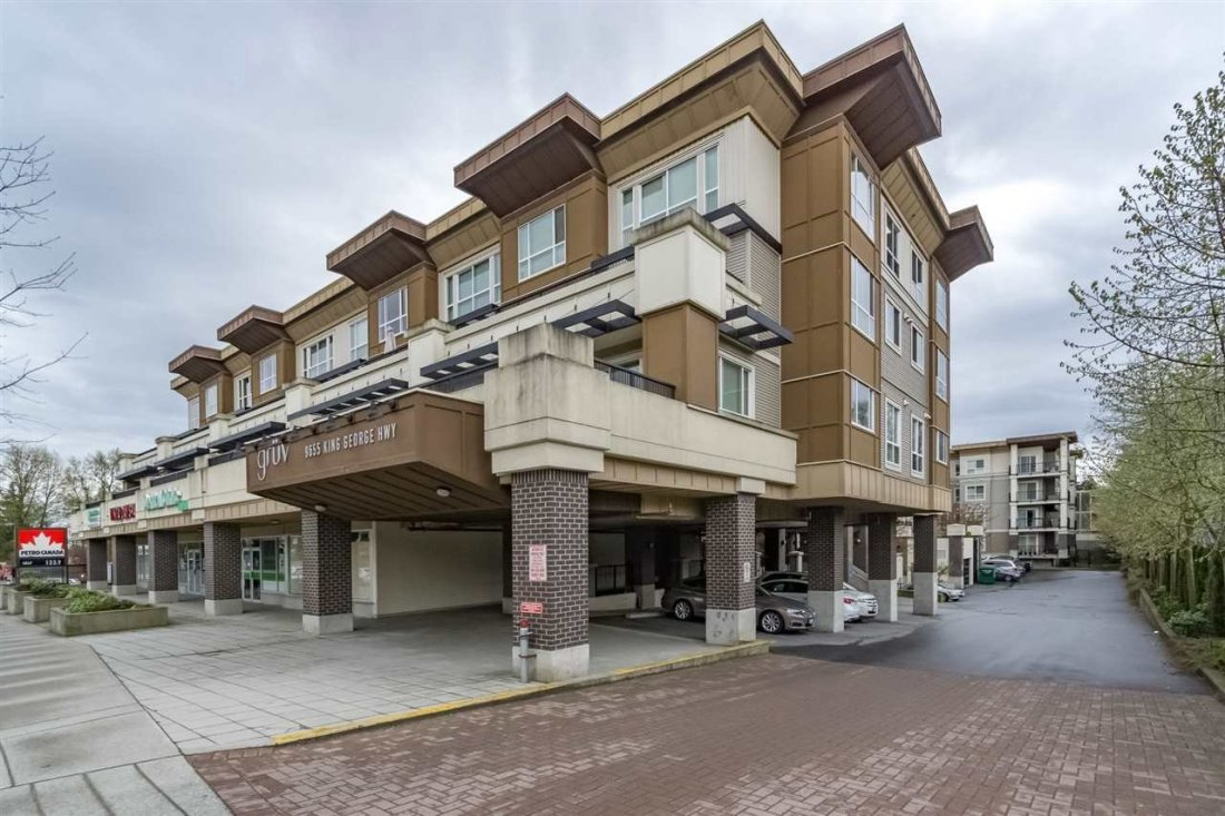 """Main Photo: 223 9655 KING GEORGE Boulevard in Surrey: Whalley Condo for sale in """"The Gruv"""" (North Surrey)  : MLS®# R2159457"""