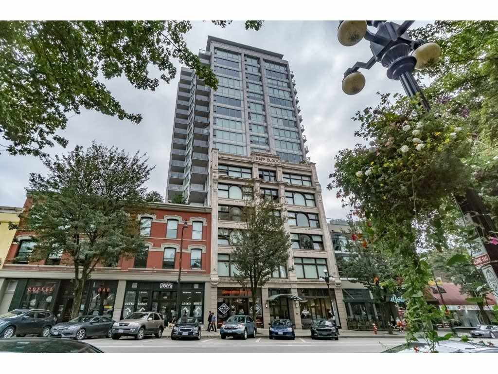 """Main Photo: 2005 668 COLUMBIA Street in New Westminster: Quay Condo for sale in """"TRAPP & HOLBROOK"""" : MLS®# R2203943"""