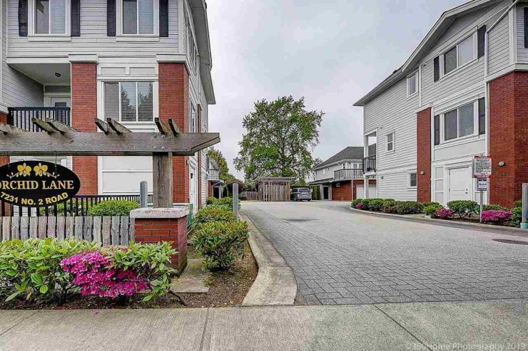 """Main Photo: 19 7231 NO. 2 Road in Richmond: Granville Townhouse for sale in """"Orchid Lane"""" : MLS®# R2369058"""