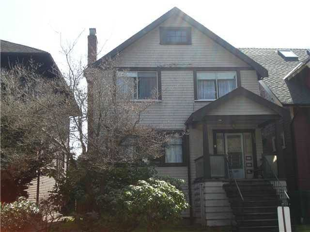 Main Photo: 2856 W 3RD Avenue in Vancouver: Kitsilano House for sale (Vancouver West)  : MLS®# R2318498