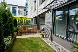 "Photo 3: 101 3289 RIVERWALK Avenue in Vancouver: South Marine Condo for sale in ""R+R"" (Vancouver East)  : MLS®# R2463417"