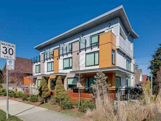 "Photo 1: 419 E 6TH Avenue in Vancouver: Mount Pleasant VE Townhouse for sale in ""6TH & GUELPH"" (Vancouver East)  : MLS®# R2446729"