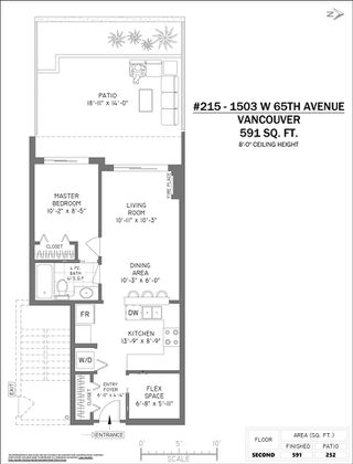 "Photo 19: 215 1503 W 65TH Avenue in Vancouver: S.W. Marine Condo for sale in ""THE SOHO"" (Vancouver West)  : MLS®# R2428624"