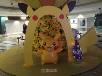 Plethora of Pikachu at Sunshine Mall