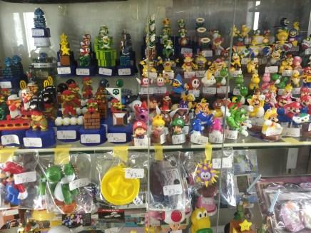 This is just a sampling of Nintendo goods in Akiba