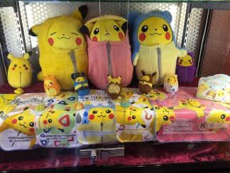 UFO Catcher (Crane Game) with adorable Pikachu