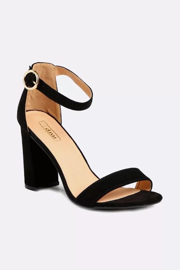 wedge heels block heels