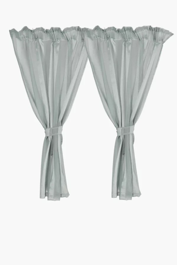 sheer cafe curtains for living room decor painting ideas shop lounge online mrp home 2 pack curtain 110x120cm