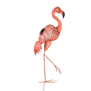 QVC Gardening: LED Flamingo