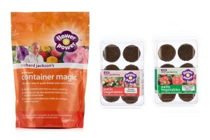 QVC Gardening: Richard Jackson's Pre-Seeded Plug and Container Magic Kit