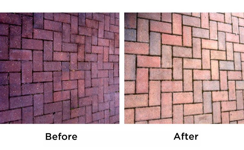 Wet & Forget Before and After: Pathway