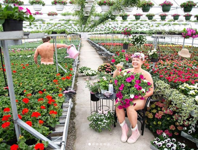 World Naked Gardening Day 2019