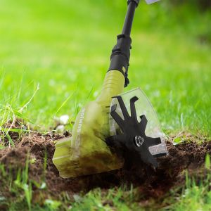 Cordless weeder and cultivator