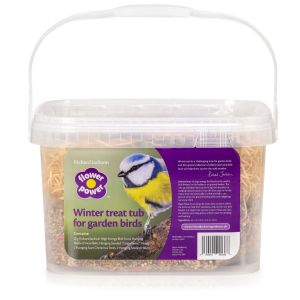 Bird treat tub