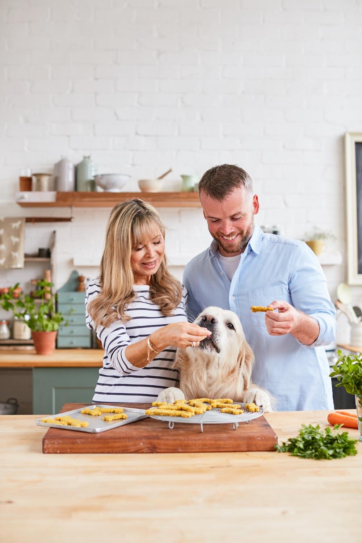 Plant based dog treats
