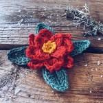 Poinsettia crochet