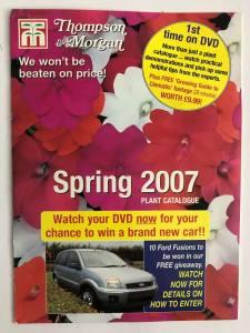 Thompson & Morgan sprin 2007 catalogue