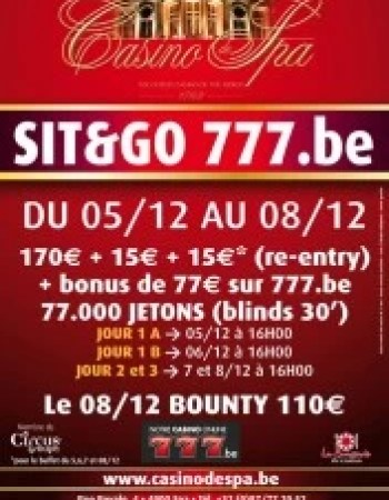 Tournoi 777.be