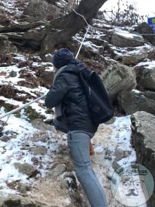 首爾自由行,首爾,自由行,九曲瀑布,雪景2