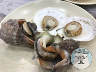 首爾自由行,螺,貝,皇帝食堂