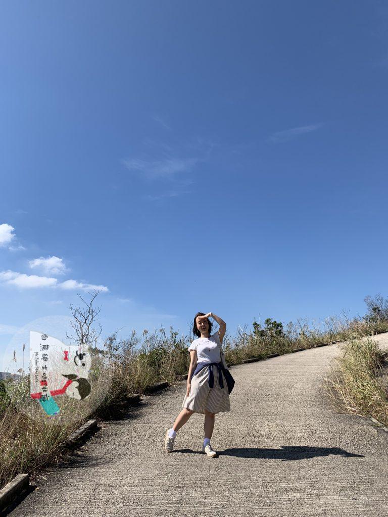 菠蘿山,大峽谷,下白泥,情侶行山,行山,遠足,香港日落,香港景