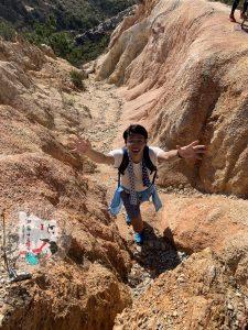 菠蘿山,大峽谷,香港峽谷,下白泥,情侶行山,遠足,屯門山