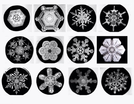 Quantum Electrodynamics & Snowflakes